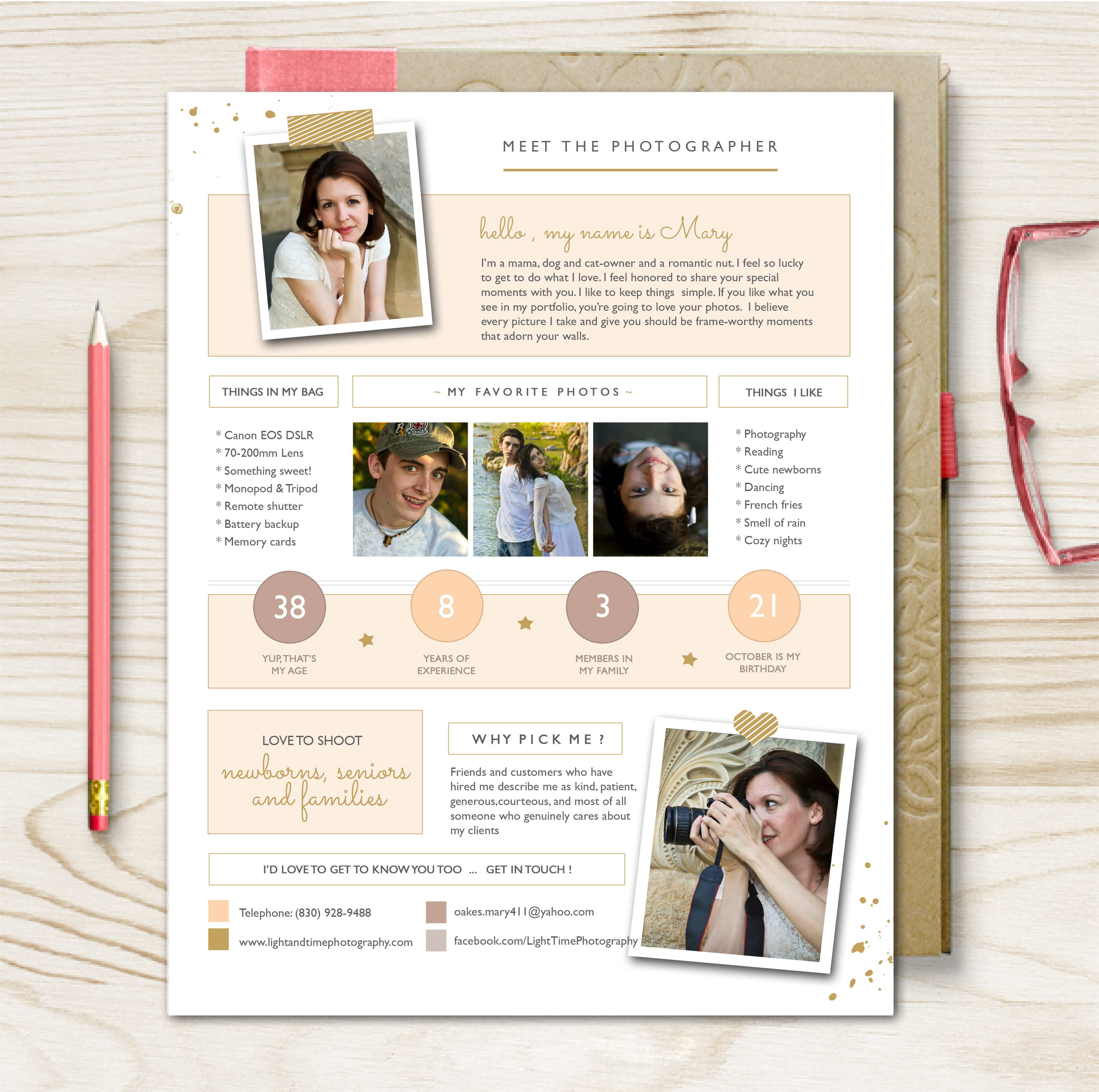 photography bio template - photographerbiotemplate
